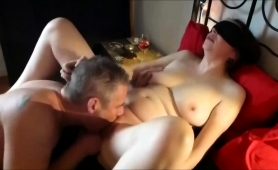 Hot Mature Lady In Stockings Gets Her Cunt Licked And Fucked