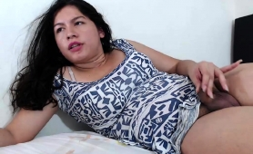 gorgeous-latina-shemale-with-a-splendid-ass-strokes-her-dick