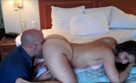 Striking Milf With A Wonderful Ass Gets Drilled Doggystyle