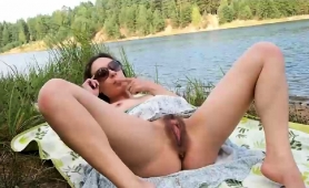 wild-mature-wife-plays-with-her-hairy-cunt-in-the-outdoors