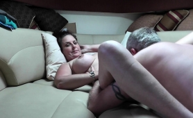Busty Mature Wife Gets Her Snatch Licked And Fucked In Pov