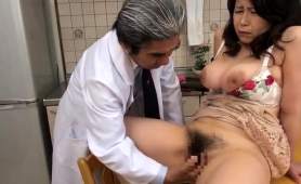 Big Breasted Asian Wife Gets Her Hairy Slit Pounded Deep