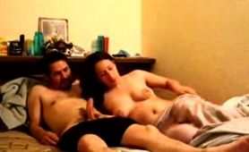Stacked Mom With A Lovely Ass Jumps On Top Of A Hard Dick